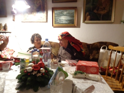Babcia and Dziadek!